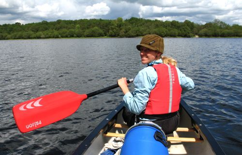 paddling the erne waterway lough oughter