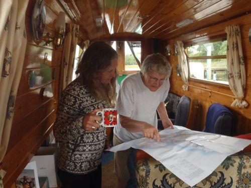 Narrow boat tea